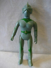"vintage Bullmark MIRRORMAN vinyl toy Japanese monster fighter figure 11"" sofubi"