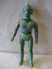 """vintage Bullmark MIRRORMAN vinyl toy Japanese monster fighter figure 11"""" sofubi"""