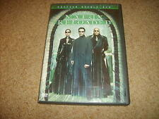 DVD MATRIX RELOADED Edition Double DVD - VF VOSTFR - TBE