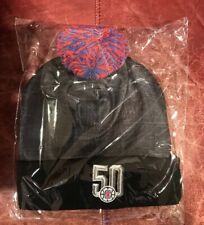 "LA Clippers ""50th Anniversary"" Beanie (One Size Fits Most) SGA Brand New In Bag!"