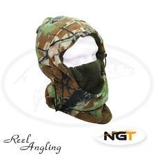 Deluxe Fleeced Camo Snood Adjustable Neck Warmer Winter Fishing Hunting NGT