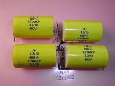 MKP Capacitors 3.3uF 400VDC 10% RM39mm 1.70MKP 4pcs Arcotronics