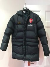 **ARSENE WENGER ICONIC NIKE ARSENAL FC OFFICIAL JACKET COAT - GREAT CONDITION**