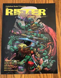 Palladium Books THE RIFTER #9 Megaverse TMNT Role Playing PRG Book 2000