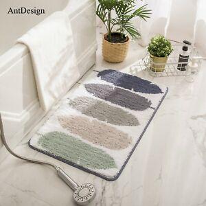 AntDesign Luxury Bathroom Rug, Non-Slip Microfiber Bathroom Rugs 20'' x 32''