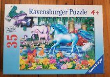 RAVENSBURGER Fantasy Friends Unicorns 35 Piece Puzzle 08 608 5 2007