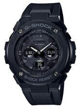 Casio G-Shock G-STEEL * GSTS300G-1A1 Solar Midsize All Black Resin Watch