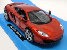 Véhicules miniatures oranges cars McLaren