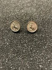 Colt Factory Original Nickel Grip Medallions