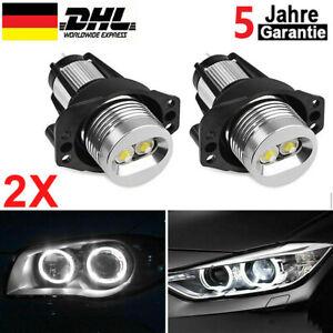 2x LED Standlicht Ringe Angel Eyes Marker Frontscheinwerfer für BMW E90 E91