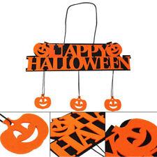 Pumpkin Banner Pendant Door Hangings Halloween Happy Party Decore Handmade Gifts