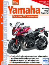 YAMAHA FZ1 & FZ1 FAZER ab 2006 REPARATURANLEITUNG 5308 WARTUNGSHANDBUCH