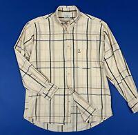Trussardi sport shirt camicia uomo usato XL 17 44 manica lunga quadri T5939
