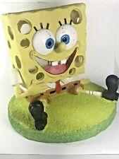 SpongeBob Nickelodeon Fish Tank Water Aquarium Ornament Yellow