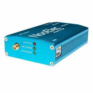 Ham It Up RF Upconverter v1.3: Extruded Aluminum Enclosure, Blue; RTL-SDR USA