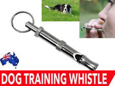 Pet Horn Whistle Training Device Adjustable Ultrasonic Pet Trainer AU
