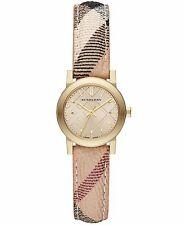 Burberry Women's Watch Check  Leather Band BU9219 Refurbished