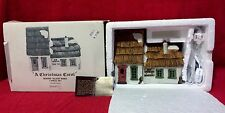 "Dept 56 Dickens Villiage Series 1986 "" A Christmas Carol""Lightup House RARE"