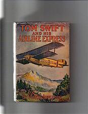 Victor Appleton-1926-TOM SWIFT & His AIRLINE EXPRESS (#29) ORIGINAL DUST JACKET