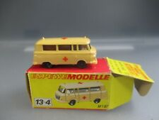 Espewe Models GDR: Nr-13-4 Barkas Ambulance in Oct, Scale 1:87 (GK24)