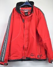 Marker Mens Red Size Medium Insulated Snowboard Ski Winter Coat  (E2)