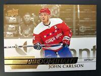 2020-21 Upper Deck Series 1 John Carlson Predominant Gold