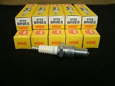 New NGK Spark Plugs (10 Count) BR9ES / 5722 Twist Plug Snowmobile ATV Motorcycle