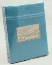 Turquoise Super King Duvet Cover Oxford Pillowcase Set 100% Cotton Sateen 220 Tc