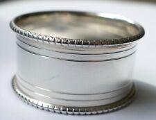 Serviettenring 925 Silber schlicht zeitlos Vintage 60er napkin ring silver