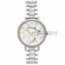 Fossil Original ES3939 Women's Jacqueline White Stainless Steel Watch 36mm Multi