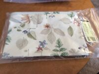 Longaberger~ Botanical Fields Fabric Liner for Small Stow Away Basket