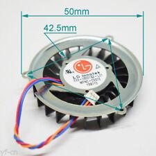 1pc LG Innotek E33-0900162-L01 MFNC-C537E 5010 5V 23 Blades 3pin CPU Fan