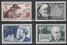 Frankrijk postfris 1956 MNH 1083-1086 - Franse Wetenschappers