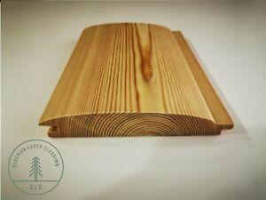 Siberian Larch Cladding Loglap 24x146mm Grade AB Kiln Dried TOP QUALITY!!