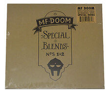 "SEALED - MF DOOM - SPECIAL BLENDS NUMBERS 1 & 2 - DOUBLE 12"" VINYL LP"