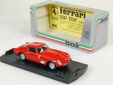 Model Box 8424 Ferrari 250 TDF Tour de France Prova 1:43 OVP 1409-03-19