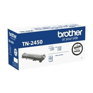 Brother GENUINE TN-2450 2450 Black Toner Cartridge Yields 3,000 Pages