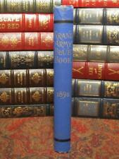 THE GRAND ARMY BLUE BOOK - 1893 - G.A.R. CIVIL WAR REGULATIONS AND RULES