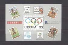 Olympiade 1988, Olympic Games - Liberia - Bl.114 ** MNH