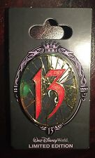 DISNEY pin event 13 reflections of evil Captain Hook Villains countdown mirror