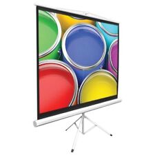 """Pyle 40"""" Video Projector Screen, Easy Fold-Out & Roll-Up Projection, Tripod"""