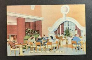 Mint Vintage Hotel Nutibara Medellin Colombia Illustrated Postcard