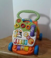 VTech Sit-to-Stand Learning Walker Baby Toddler Educational Activity Toy