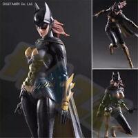 Play Arts Kai Batman Arkham Knight Batgirl Action Figur Modell 25cm Spielzeug