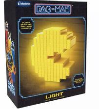 PAC MAN Paladone Veilleuse Humeur Lampe USB détecteur de mouvement joue pac-man sound