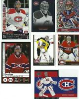 CAREY PRICE LOT of 9 diff Hockey cards + 6 panini stickers Montreal Canadiens