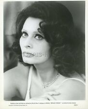 SOPHIA LOREN BRASS TARGET 1978 VINTAGE PHOTO ORIGINAL