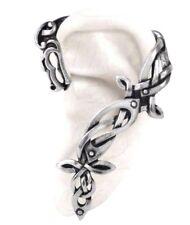 Osberg Dragon Celtic Knot Work Left Earring Ear Wrap Viking Alchemy Gothic E361