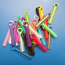 20 Packs Dental Ligature Ties Orthodontic Elastic Rubber bands brace Multi Rings