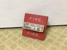Wheelock Rss 2415w Red 24vdc Fire Alarm Remote Strobe